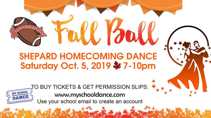 Homecoming Dance 10/5/19