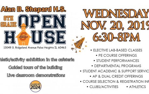 8th Grade Open House 11/20/19