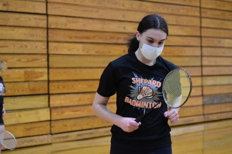 Girls Badminton Photos