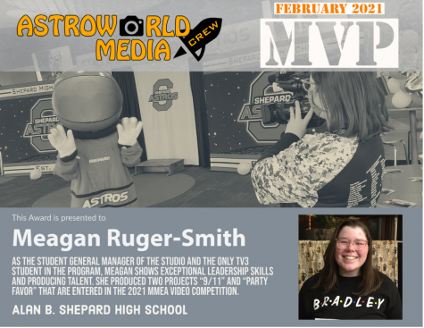 TV 3 Crew Member of the Month for February: Meagan Ruger-Smith